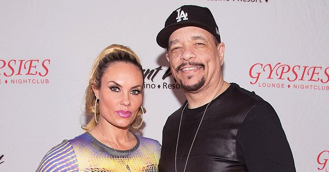 Ice-T, Coco Austin & Their Daughter Pose With Their Pups in Matching White & Checkered Outfits