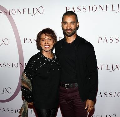 """Gloria Hendry and Michael Marcel attend Passionflix's """"The Will"""" Los Angeles Premiere on February 12, 2020    Photo: Getty Images"""