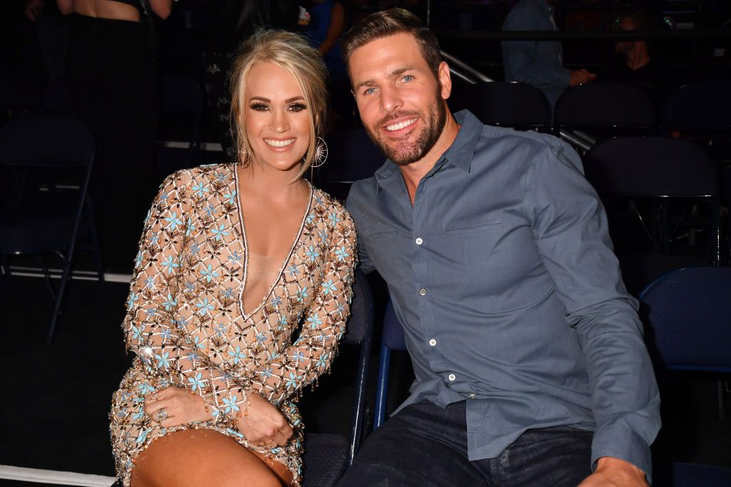 Carrie Underwood and Mike Fisher at the CMT Music Awards at Bridgestone Arena on June 05, 2019, in Nashville, Tennessee | Photo: Jeff Kravitz/FilmMagic/Getty Images