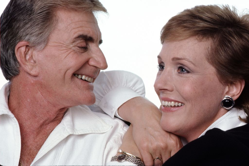 A portrait of Julie Andrews and Blake Edwards. | Source: Getty Images