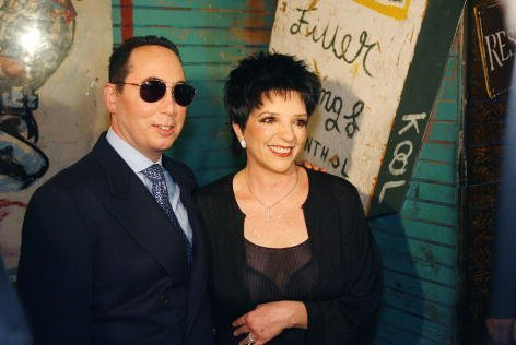 David Gest and Liza Minnelli at the House of Blues in West Hollywood, Ca. to announce they will star in a new weekly musical reality series to air on VH-1. Thursday, July 25, 2002. | Source: Getty Images.