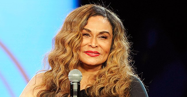 Tina Knowles Proudly Shares a Picture of Her Eldest Granddaughter Blue Ivy in an Oversized Hat & Sunglasses
