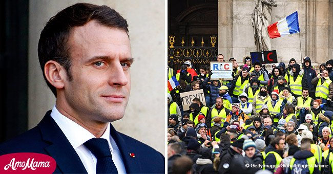 Les Gilets jaunes décident de fêter l'anniversaire d'Emmanuel Macron avec une nouvelle manifestation