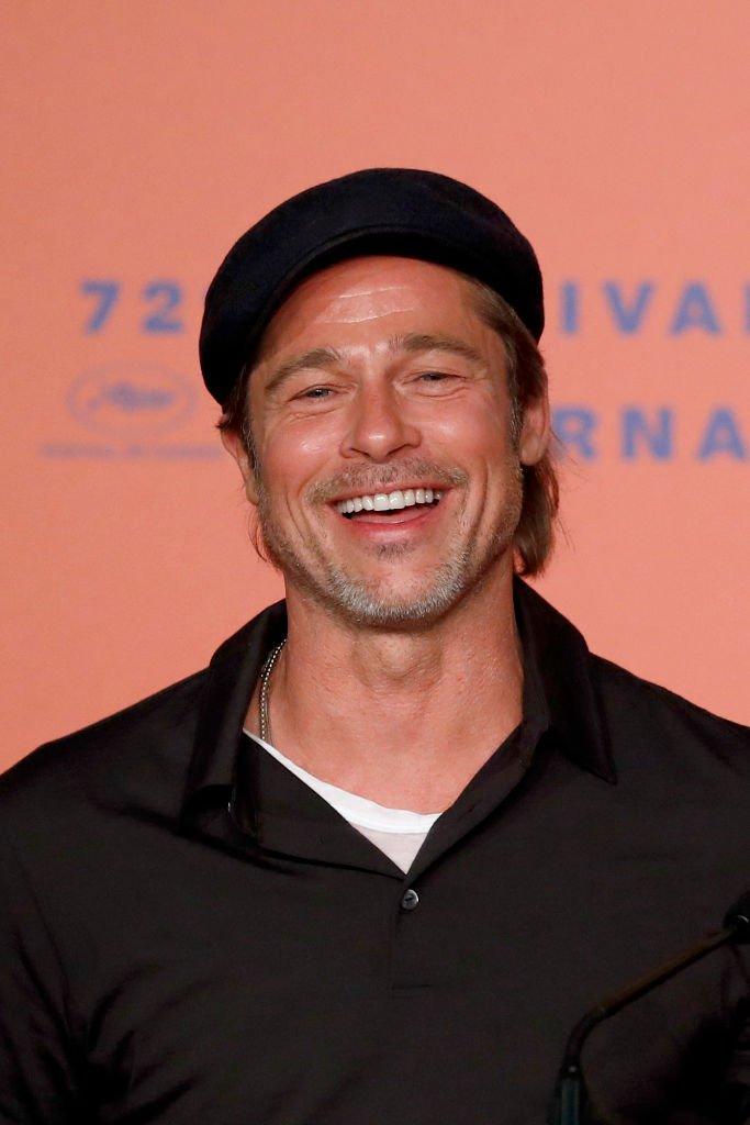 Brad Pitt à Cannes en 2019. l Source : Getty Images