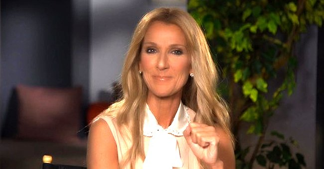 Celine Dion Shares Cute Rare Holiday Photo with Her Three Sons in Matching Pajamas