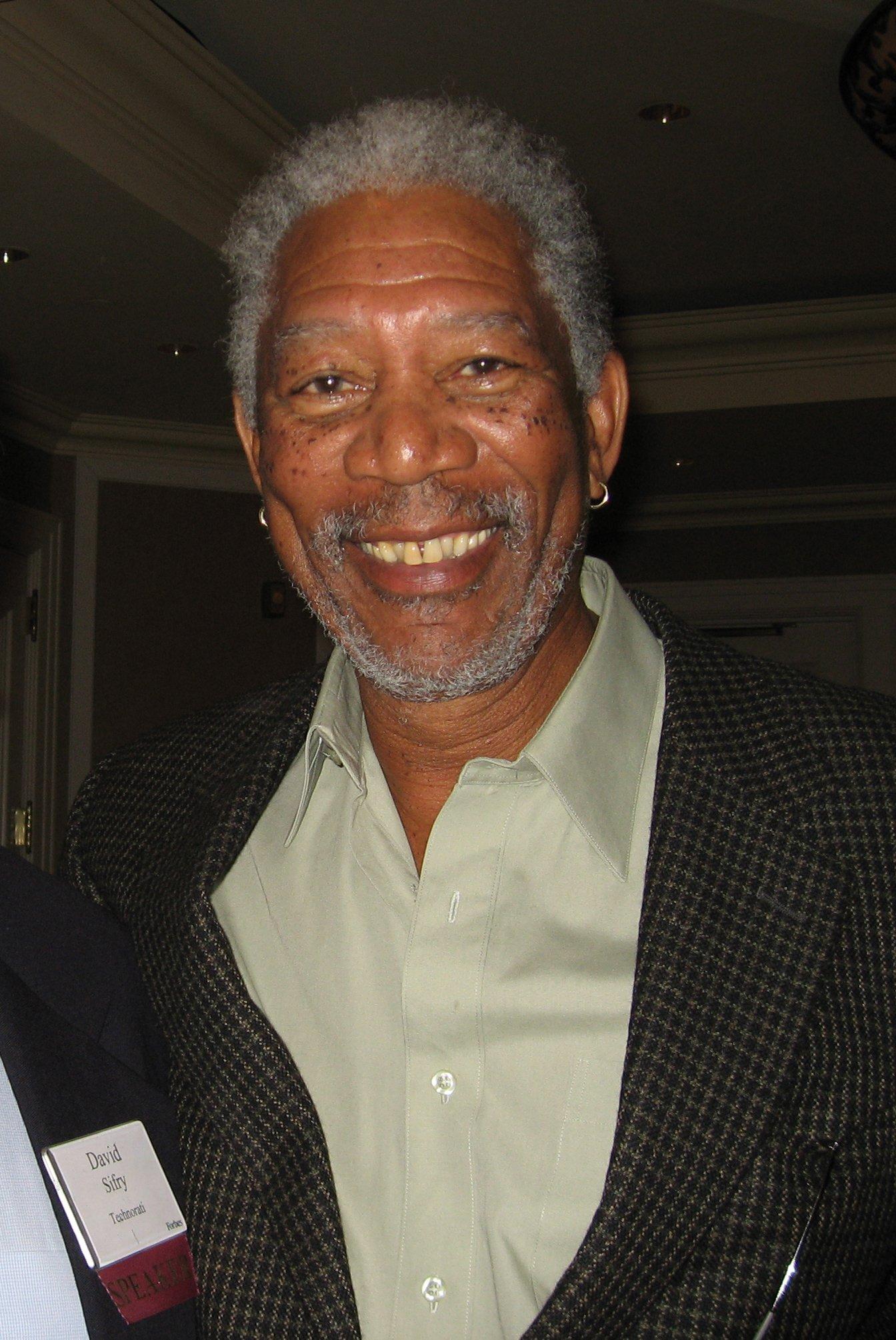 Morgan Freeman | Imagen: Wikimedia Commons