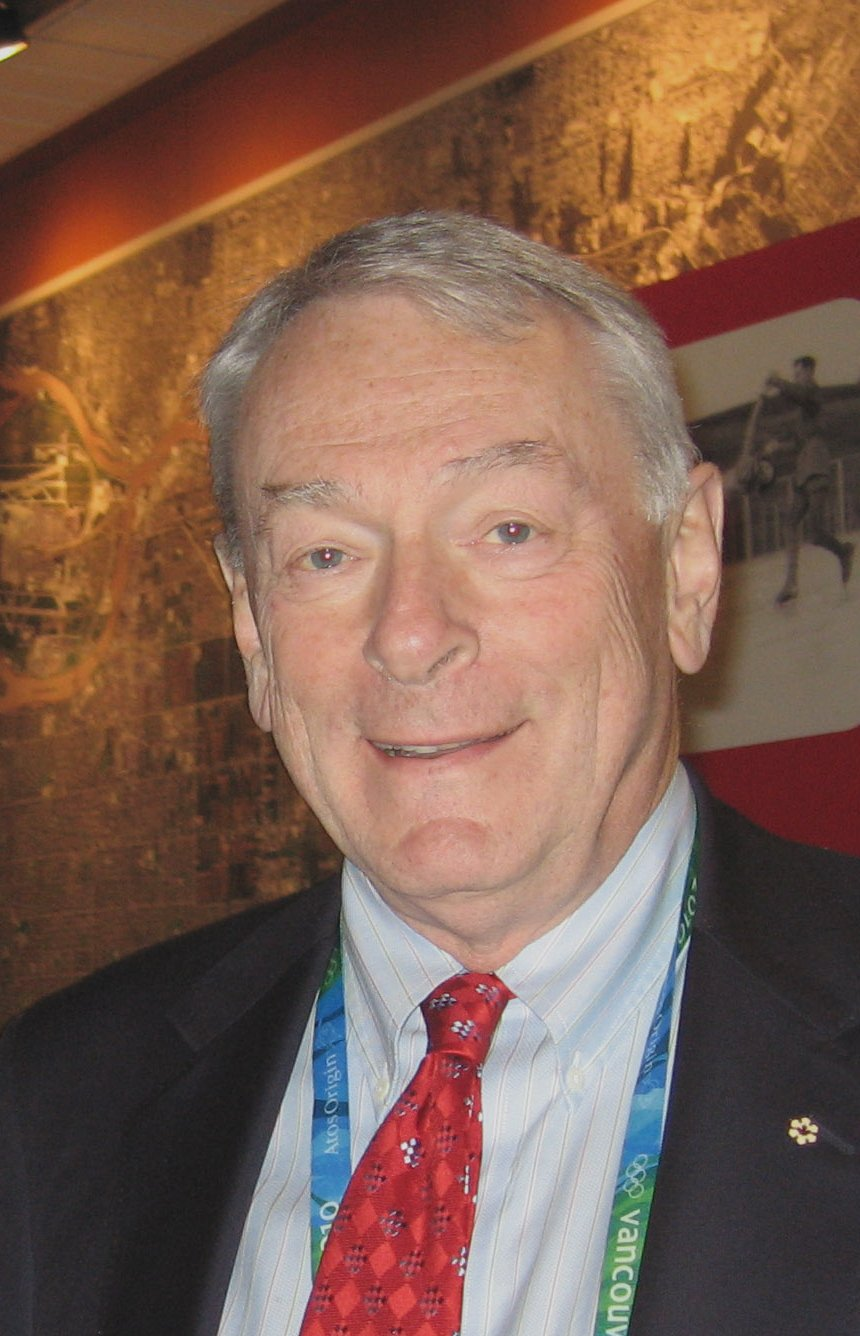 A file photo of Dick Pound, member of the International Olympic Committee (IOC) since 1978 circa 2010. | Source: Wikimedia Commons