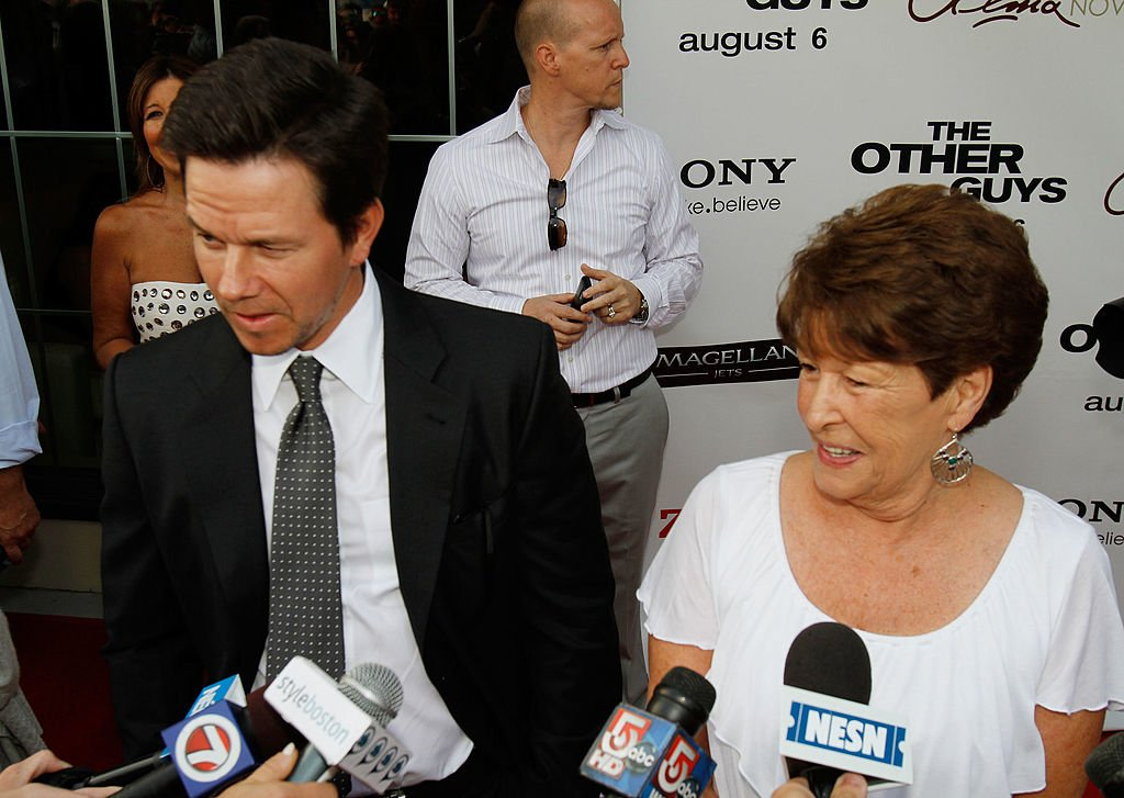 """Mark Wahlberg and Alma Wahlberg at a screening of """"The Other Guys"""" at Alma Nove on August 3, 2010 in Hingham, Massachusetts 