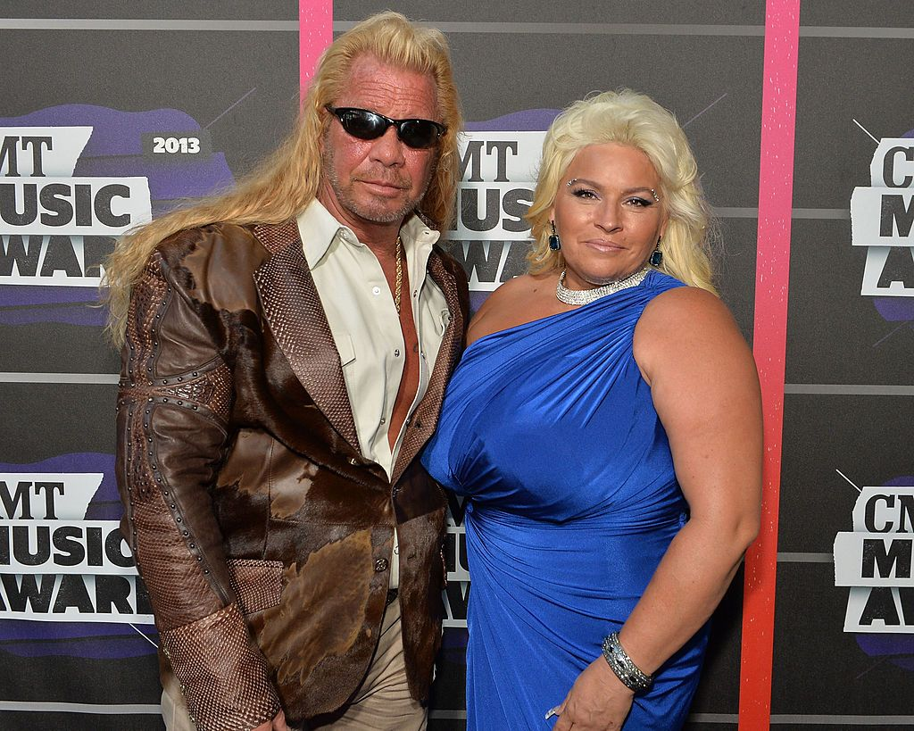 Duane 'Dog' Chapman and Beth Chapman at the CMT Music awards, 2013 in Nashville, Tennessee Photo: Getty Images