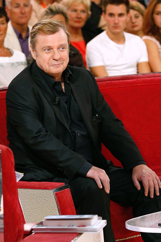 "L'acteur Jacques Spiesser assiste à l'émission de télévision française ""Vivement Dimanche"" au Pavillon Gabriel le 24 septembre 2014 à Paris, France. 