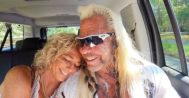 Dog the Bounty Hunter' Cuddles with Fiancée Francie Frane in a Romantic Pic — See Fan Reactions
