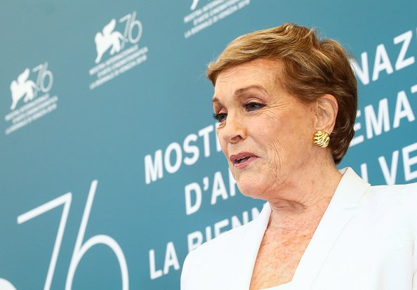 Julie Andrews attends the Golden Lion for Lifetime Achievement photocall during the 76th Venice Film Festival | Photo: Getty Images