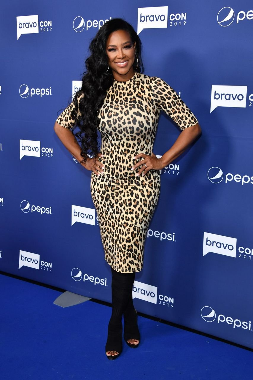 Kenya Moore attends the opening night of the 2019 BravoCon at Hammerstein Ballroom on November 15, 2019 in New York City.   Source: Getty Images