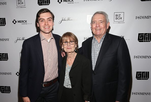 Martin Rather, Jean Goebel, and Dan Rather at the 8th annual Fast Company Grill during SXSW on March 10, 2018 in Austin, Texas.   Photo: Getty Images