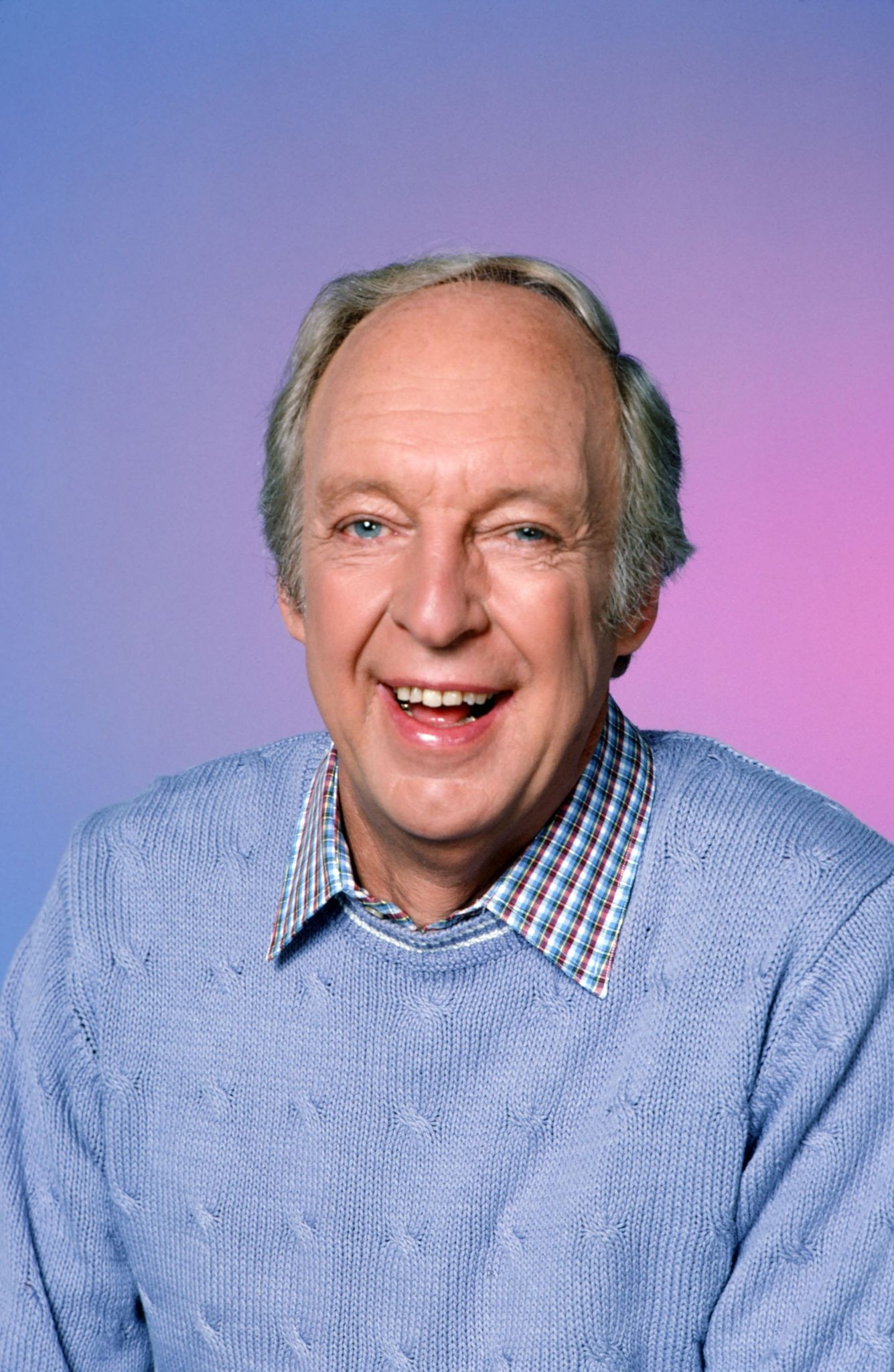 Conrad Bain pictured in 1984.   Photo: Getty Images
