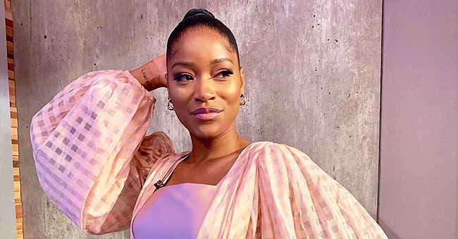 Keke Palmer Leaves Fans Guessing after Posing with Her 'GF' in Pink Mini Dress