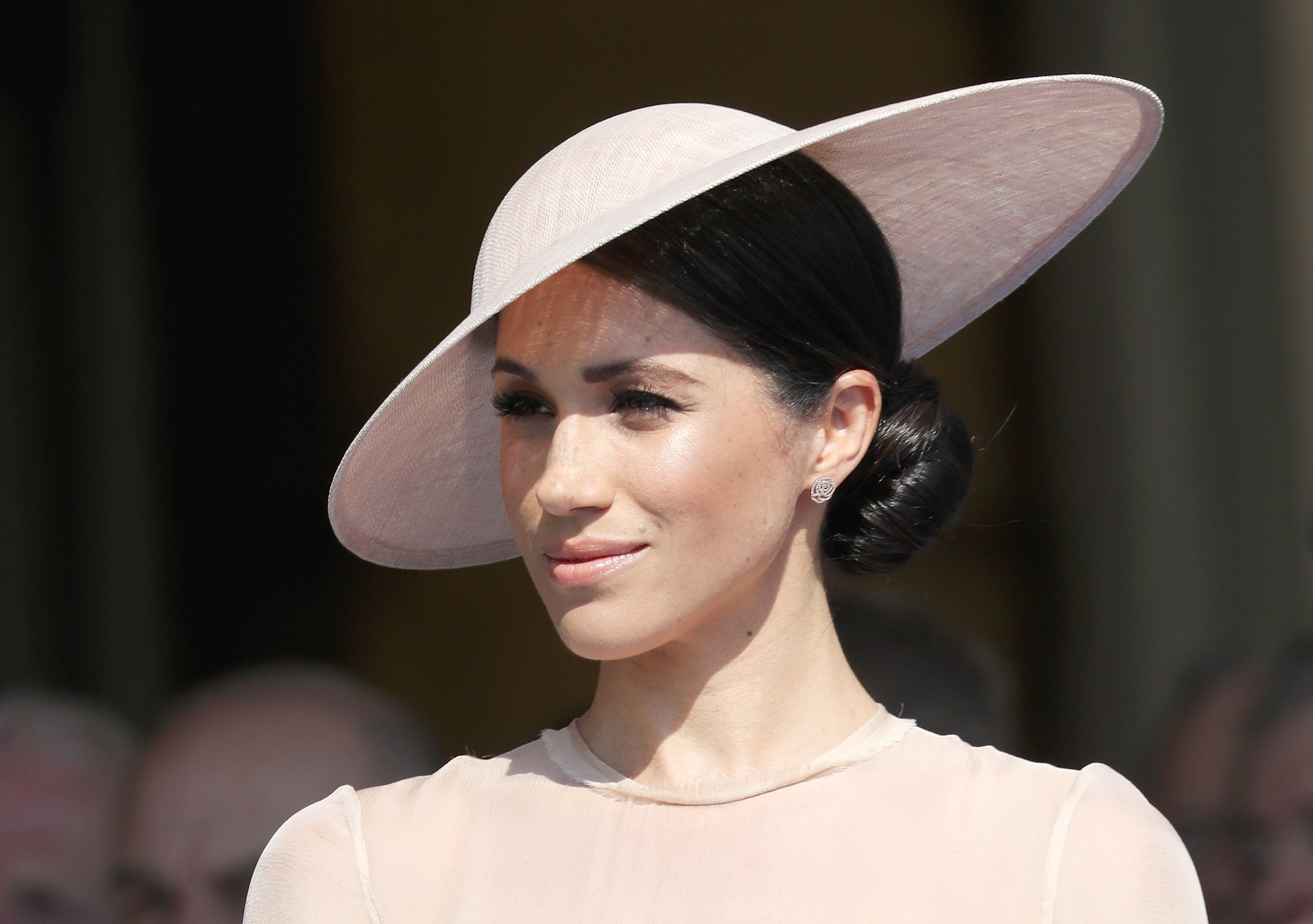 Meghan Markle attends Prince Charles' birthday celebration held at Buckingham Palace on May 22, 2018 in London, England | Photo: Getty Images