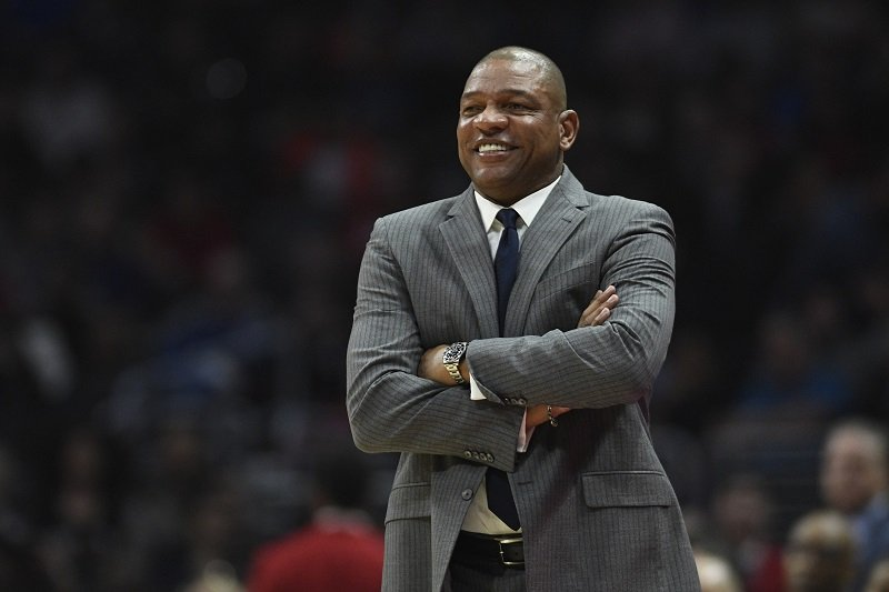 Doc Rivers on March 8, 2019 in Los Angeles, California   Photo: Getty Images