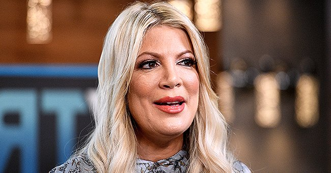 Tori Spelling from 'Beverly Hills, 90210' Apologizes after Backlash over Photo of Daughter Wearing Cheetos as Nails