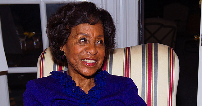 Marla Gibbs' Handsome Grandson and Great Grandson Bear a Resemblance to Her