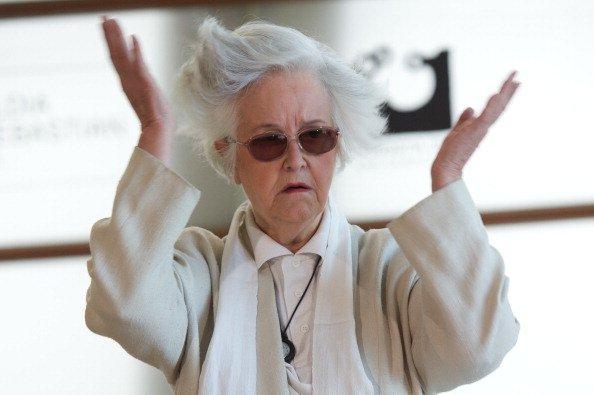 """La actriz española Chus Lampreave asiste al photocall """"El Artista y la Modelo"""" en el Palacio de Kursaal durante el 60º Festival Internacional de Cine de San Sebastián el 24 de septiembre de 2012 en San Sebastián, España.   Foto: Getty Images"""