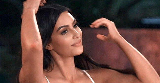 Kim Kardashian Dons Skintight Turtleneck Gown for Kylie's Skincare Launch Party (Photos)