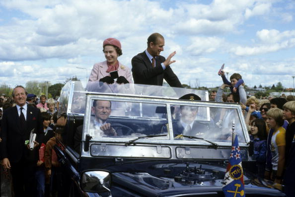 Queen Elizabeth ll and Prince Philip on October 1981 in New Zealand | Photo: Getty Images