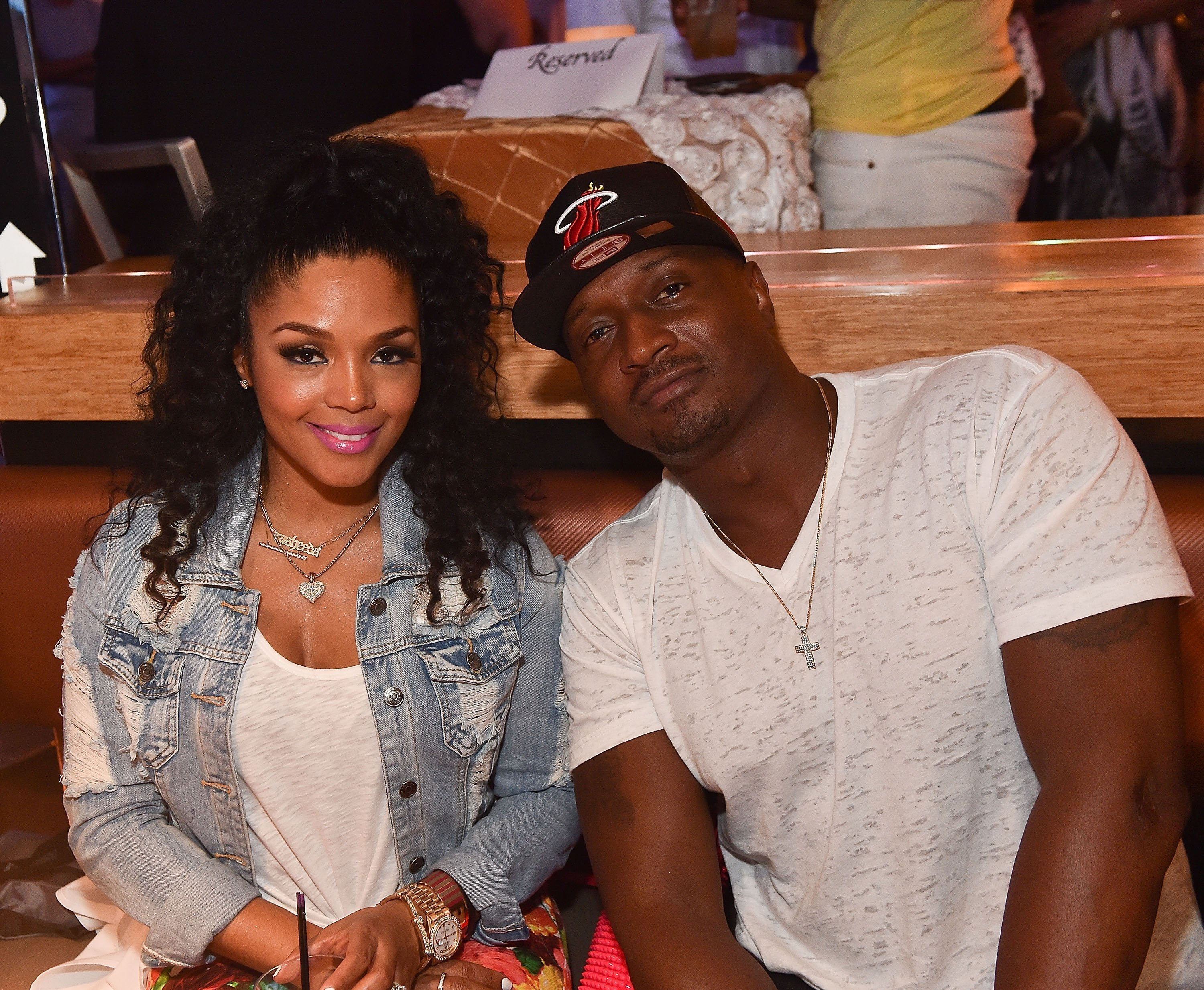 """Rasheeda and Kirk Frost at the VIP premiere watch party of """"Kandi's Ski Trip"""" in May 2015. 