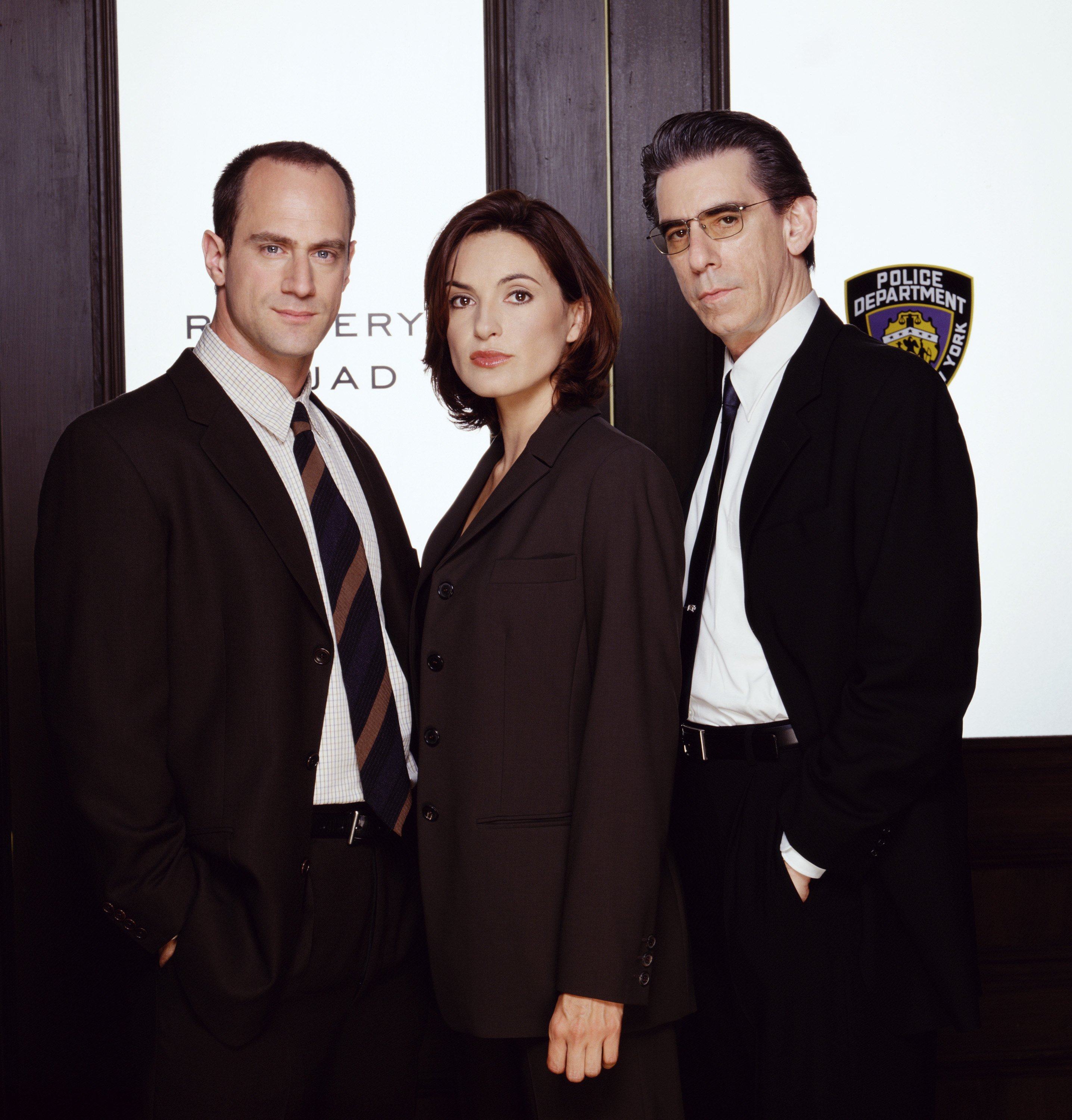 """Christopher Meloni, Mariska Hargitay, and John Much on """"Law & Order: Special Victims Unit"""" Season 1 
