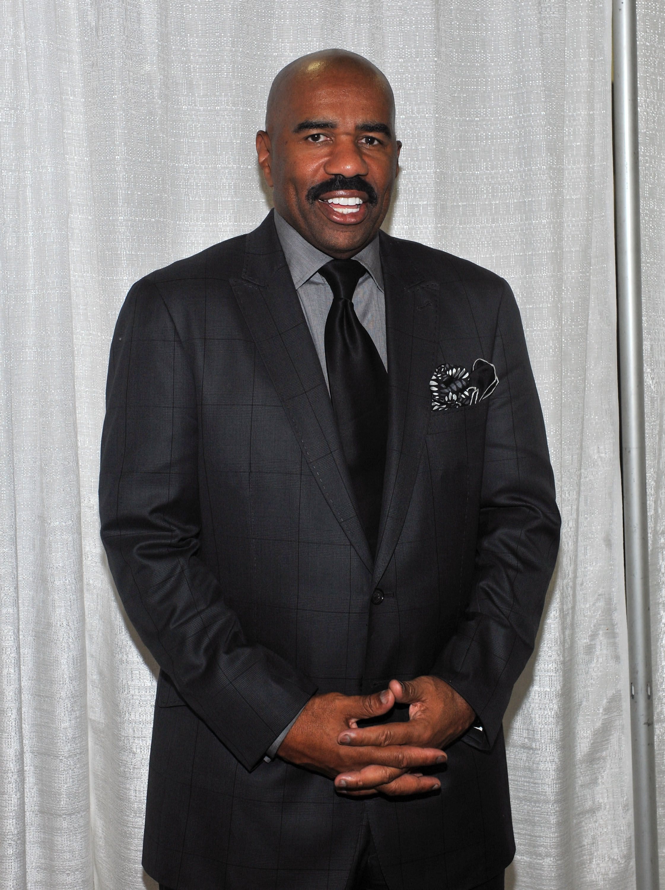 Steve Harvey at the 2011 Steve Harvey Mentoring Weekend at the Jacob Javits Center on October 7, 2011 in New York City. | Source: Getty