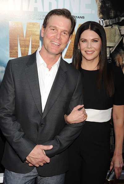Peter Krause and Lauren Graham at the Egyptian Theatre on June 23, 2015 in Hollywood, California.   Photo: Getty Images