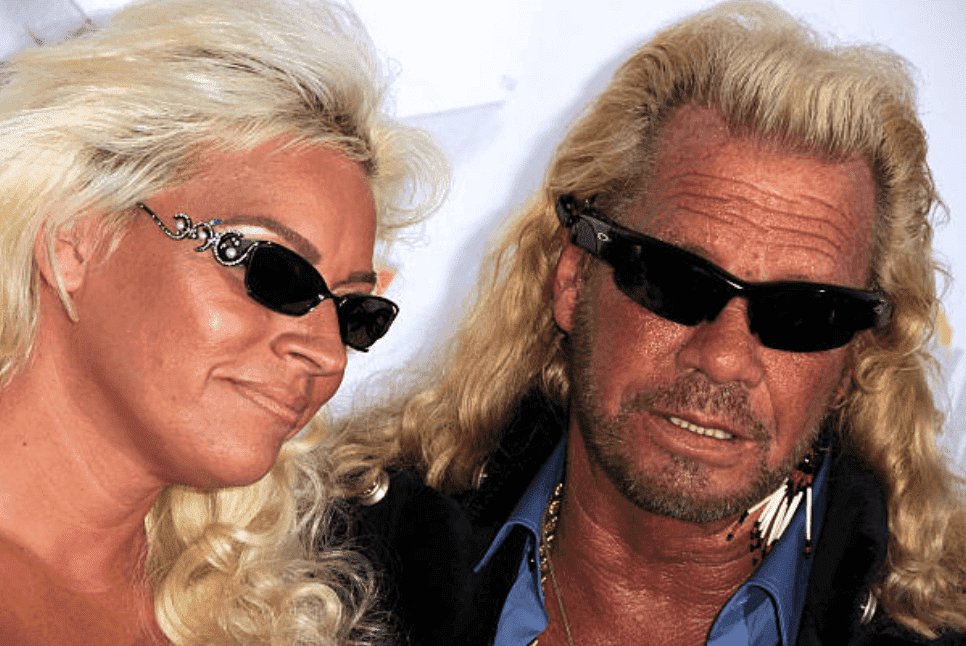 "Duane ""Dog"" Chapman and Beth Chapman arrive on the red carpet at the Fox Reality Channel Really Awards, on September 24, 2008, in Hollywood, California 