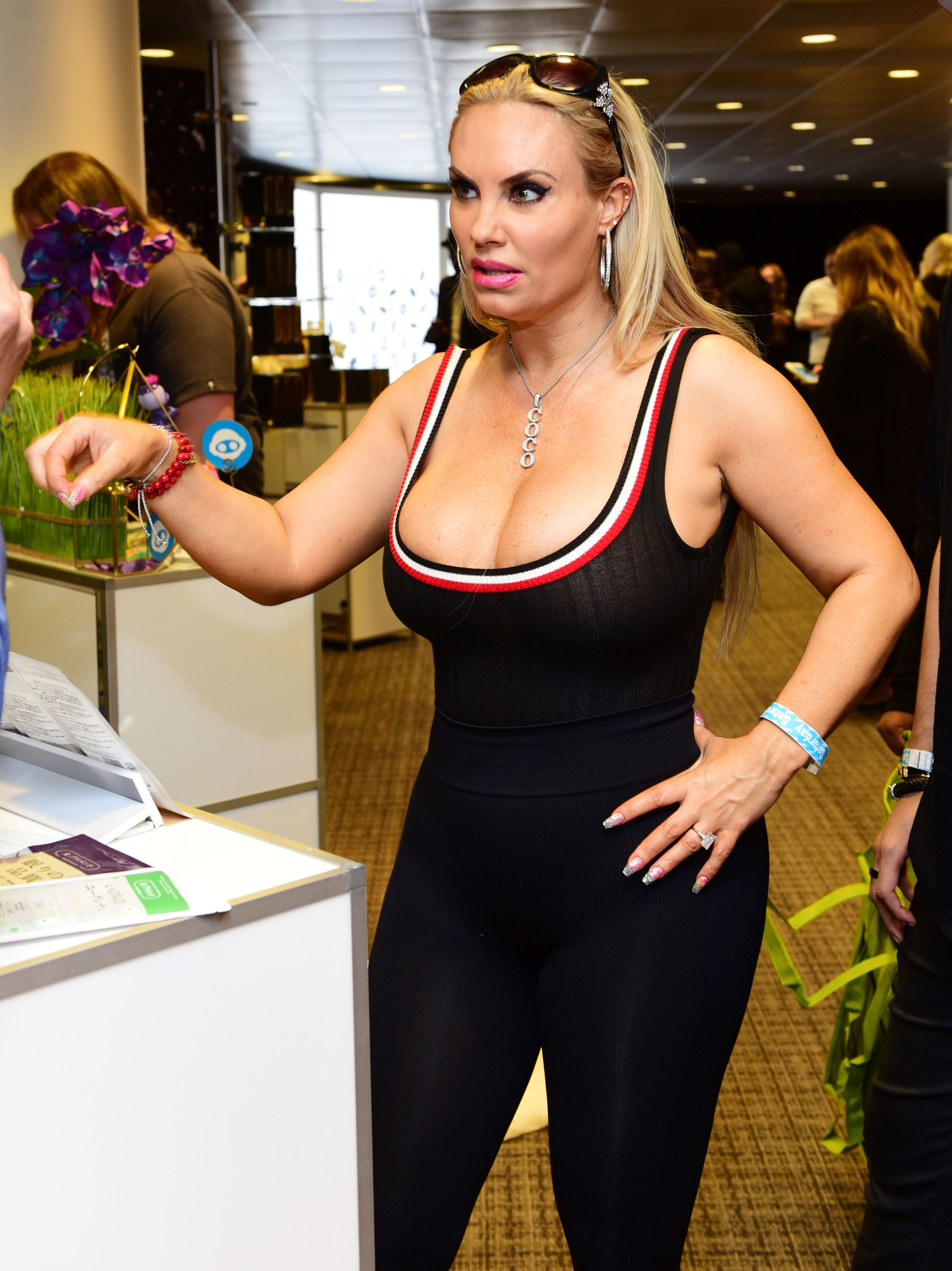 Coco Austin at the Grammy Gift Lounge on January 27, 2018 in New York City.   Photo: Getty Images