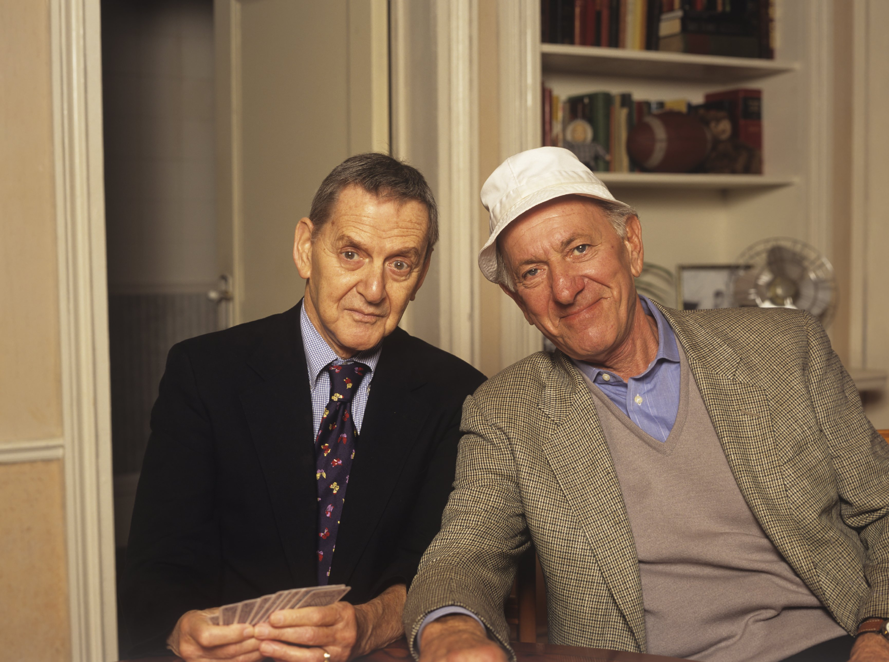 Actors Tony Randall and Jack Klugman 1993   Photo: Getty Images