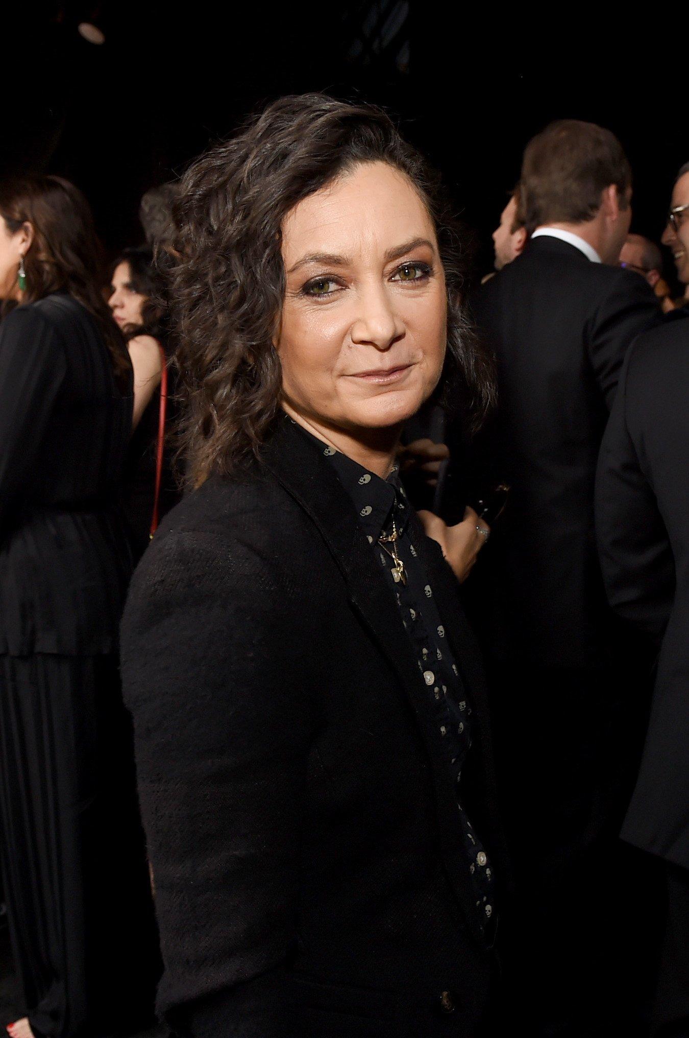 Sara Gilbert at the 24th annual Critics' Choice Awards in Santa Monica, California | Photo: Getty Images
