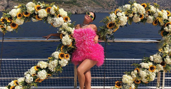Kylie Jenner Celebrates 22nd Birthday on a $250M Superyacht in Italy