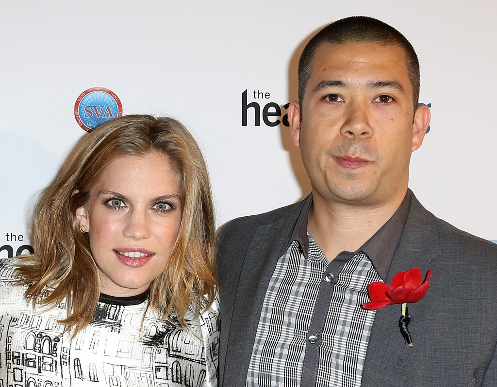 "Anna Chlumsky and Shaun So at The Headstrong Project - ""Words Of War"" Event at IAC HQ in New York City on 5/8/2013 