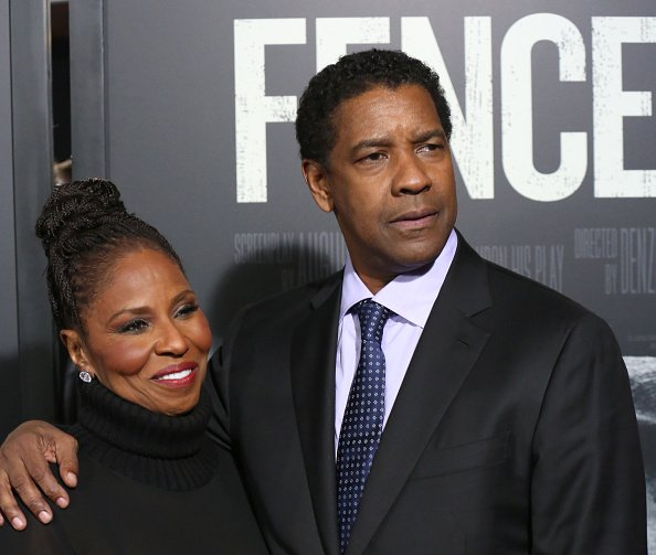 Pauletta Washington and Denzel Washington attend the 'Fences' New York screening at Rose Theater, Jazz at Lincoln Center on December 19, 2016 in New York City | Photo: GettyImages