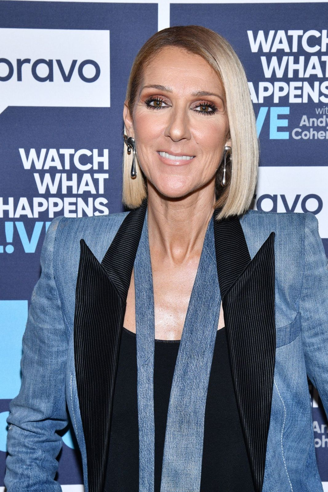 Celine Dion at Watch What Happens Live With Andy Cohen - Season 16 on November 18, 2019 | Photo: Getty Images