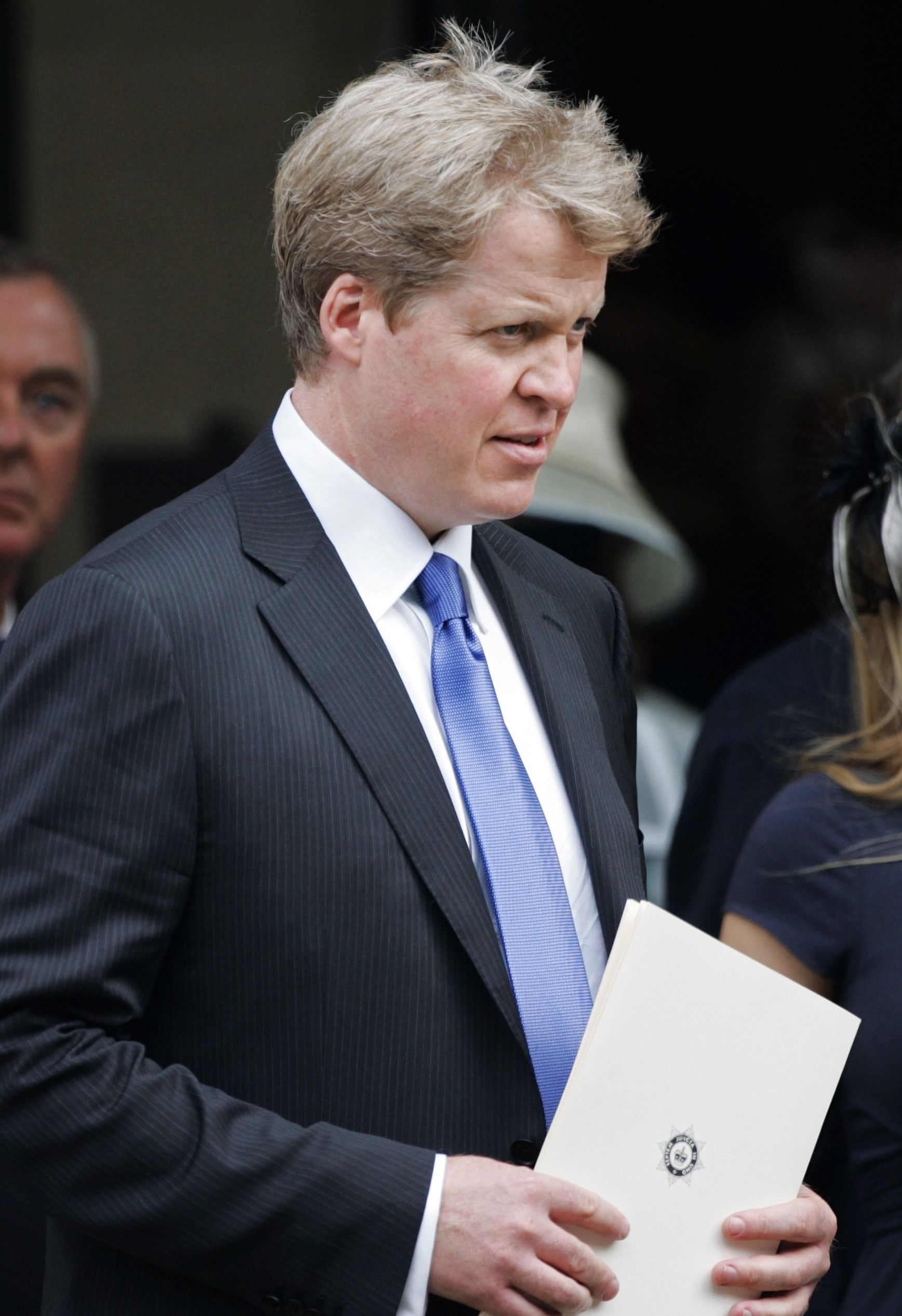 Diana's brother Charles, Earl Spencer at the 10th Anniversary Memorial Service For Diana, Princess of Wales at Guards Chapel at Wellington Barracks on August 31, 2007   Photo: Getty Images