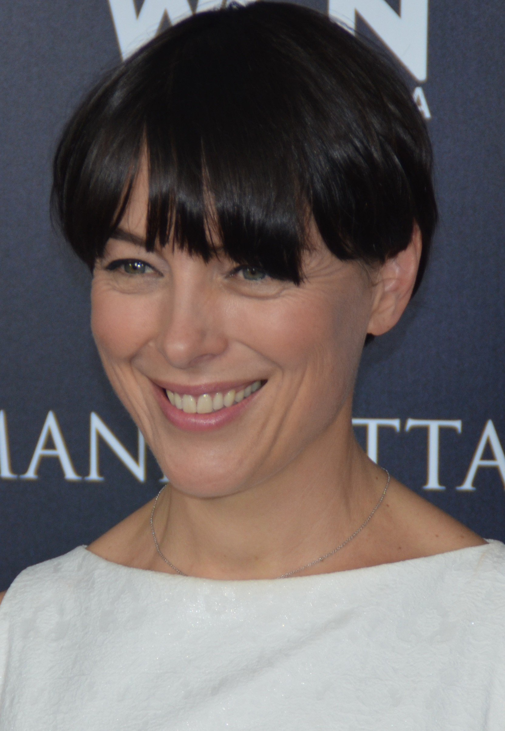 Actress Olivia Williams at the TCA/CTAM press tour event and the special panel event at the Paley Center on July 9, 2014 | Getty Images