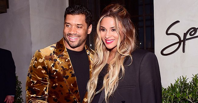 Ciara Is Gorgeous, Glowing & Pregnant as She Steps out with Russell Willson at NFL Honors 2020