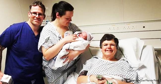 Cette femme de 55 ans a donné naissance à un bébé pour sa fille, qui n'a pas d'utérus