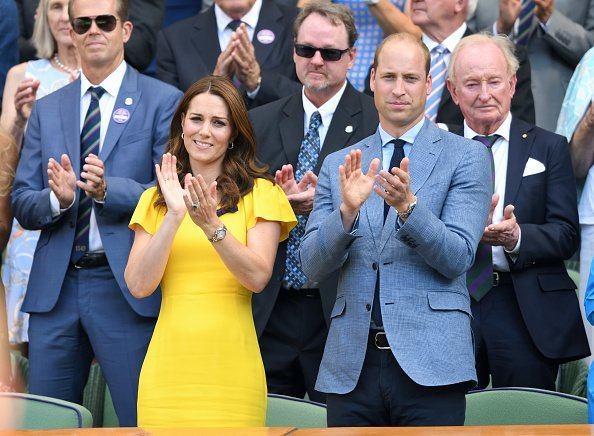 Duchess of Cambridge and  Duke of Cambridge attend the men's single final | Image: Getty Images