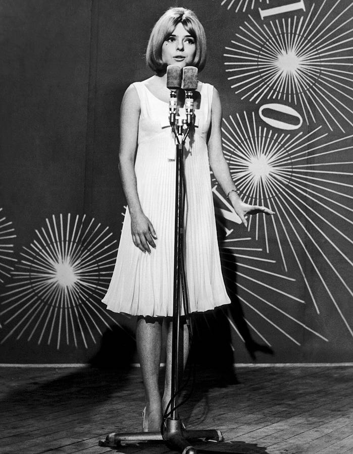 France Gall pour l'Eurovision 1965. l Source : Wikimedia Commons