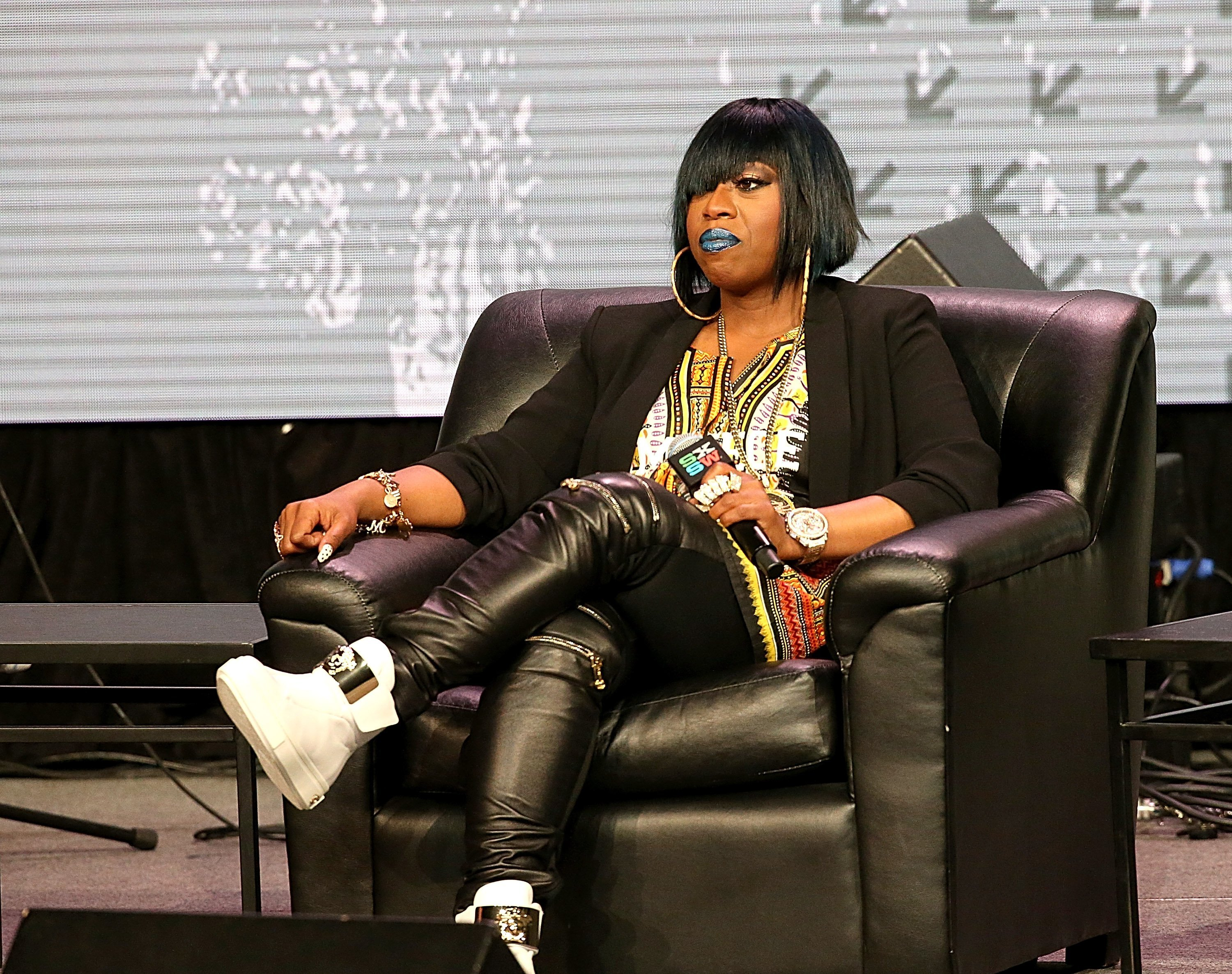 Missy Elliot attends the keynote address at the Austin Convention Center during the South by Southwest Music Festival on Mar. 16, 2016 in Austin, Texas | Photo: Getty Images