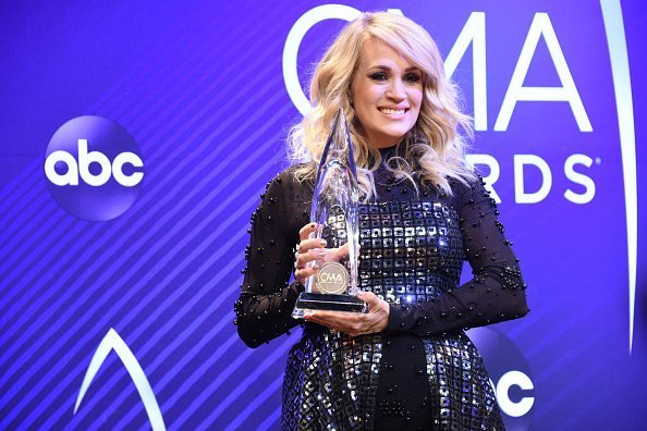 Carrie Underwood at 'The 52nd Annual CMA Awards,'  in Nashville | Photo: Getty Images