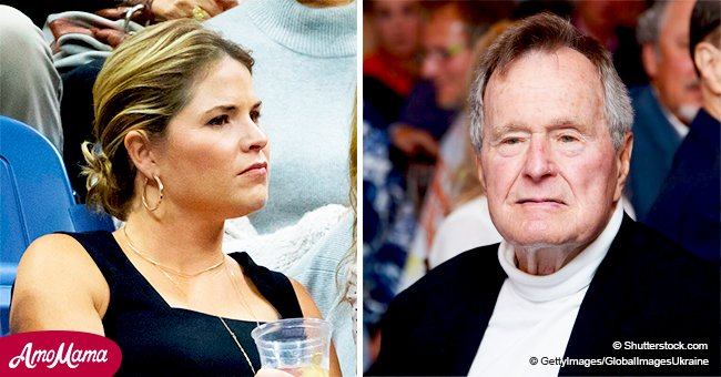 Jenna Bush Hager reveals a tearful dialog she had with grandpa just months before his death