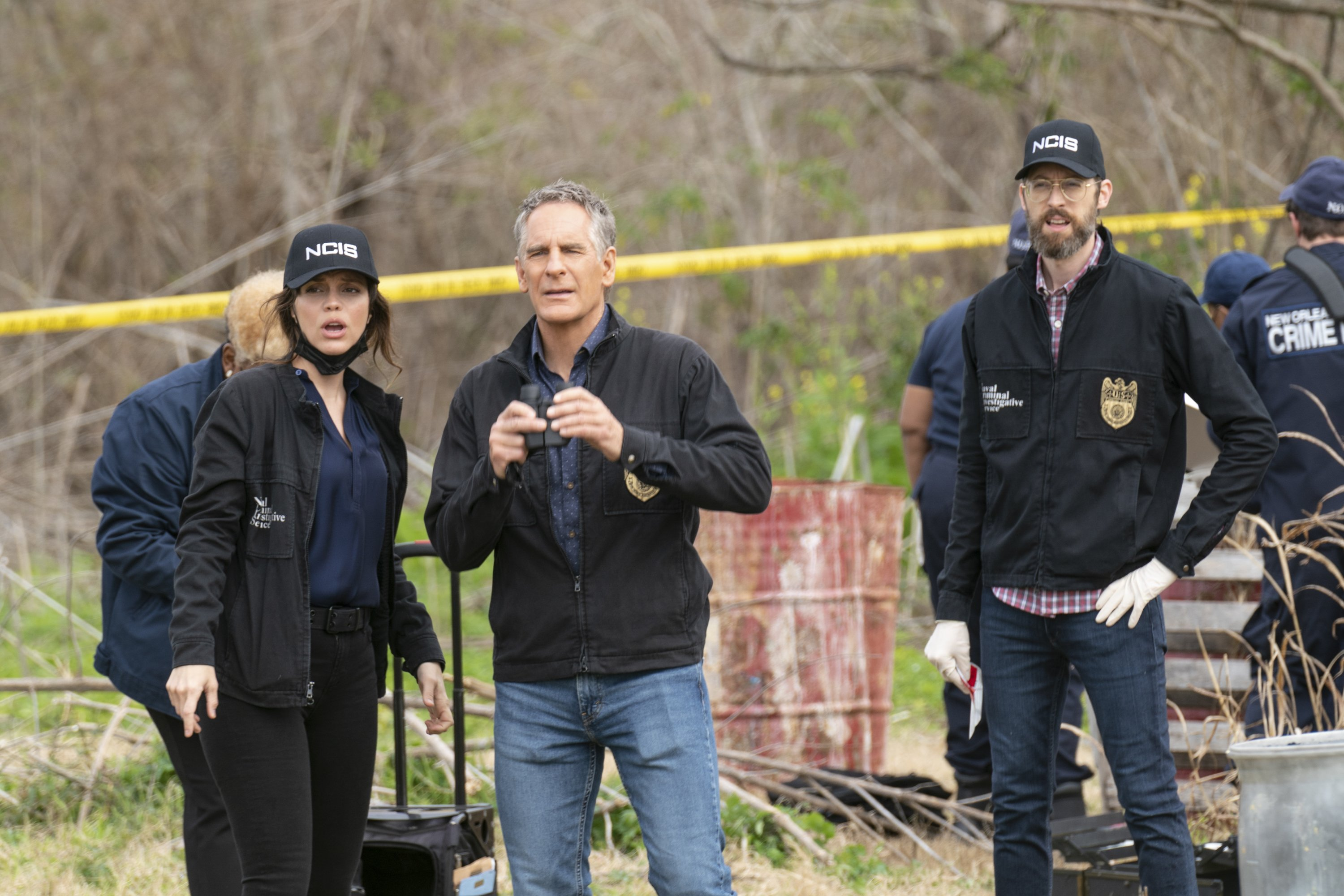 """Vanessa Ferlito, Scott Bakula, and Rob Kerkovich star in """"NCIS: New Orleans."""" 