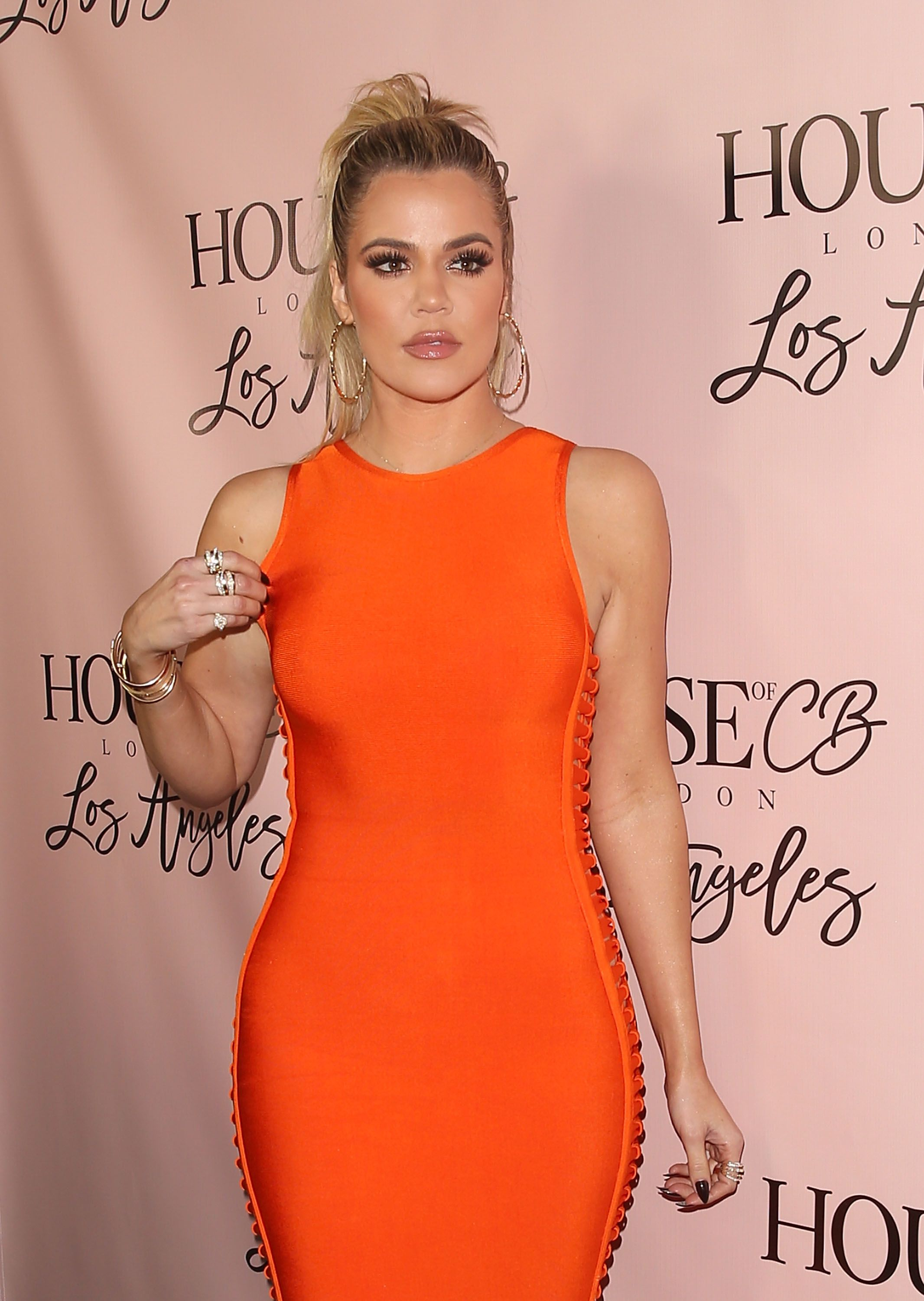 Khloe Kardashian at the House of CB flagship store launch on June 14, 2016 in West Hollywood, California | Photo: Getty Images